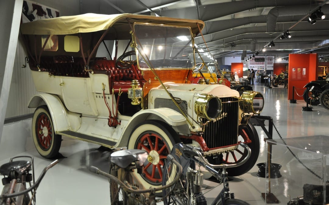 The 1910 White Steam Car, One of Three M-M's